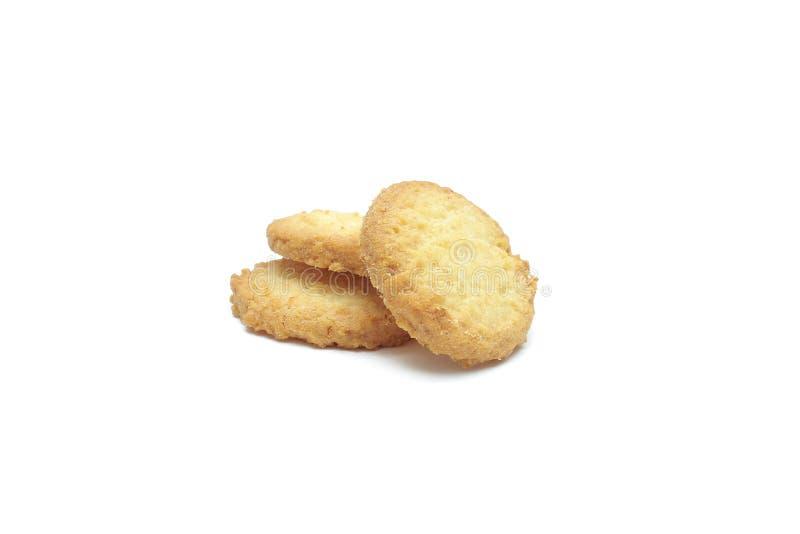 Microprocesador de la galleta y galleta de azúcar imagen de archivo libre de regalías