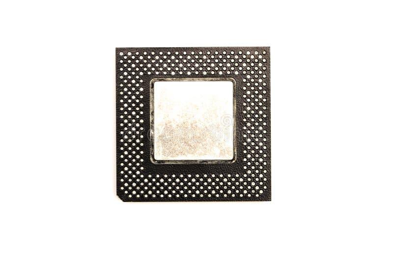 Microprocesador de procesadores imagen de archivo