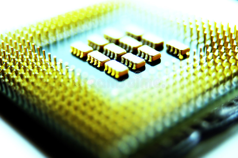 Microprocessor royalty-vrije stock fotografie