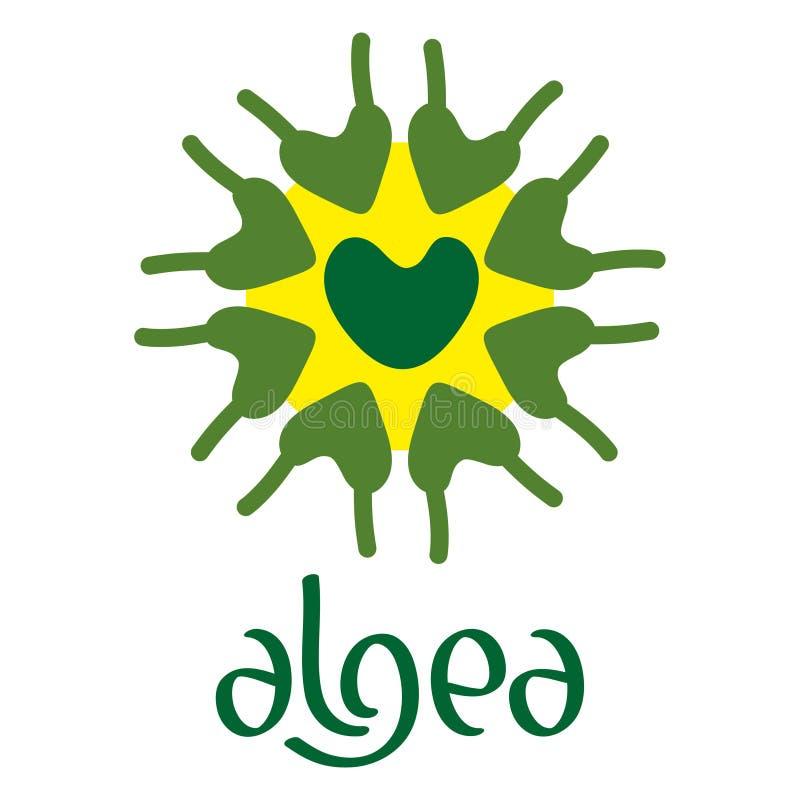 Download Microscobic Algea Icon And Logo Design Stock Vector - Image: 83704210