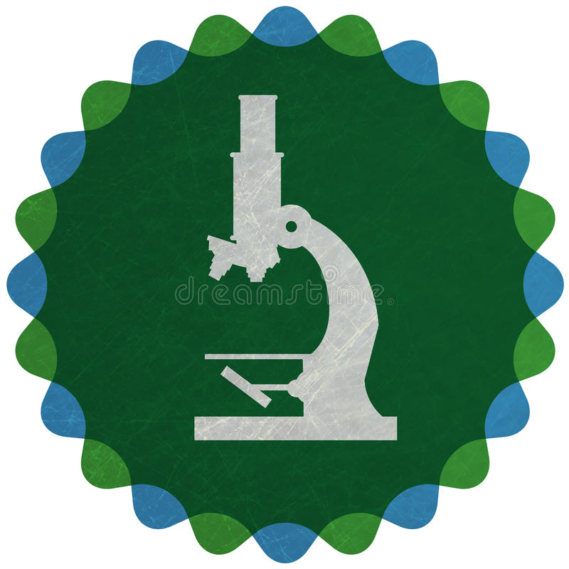 Microscoop vector illustratie