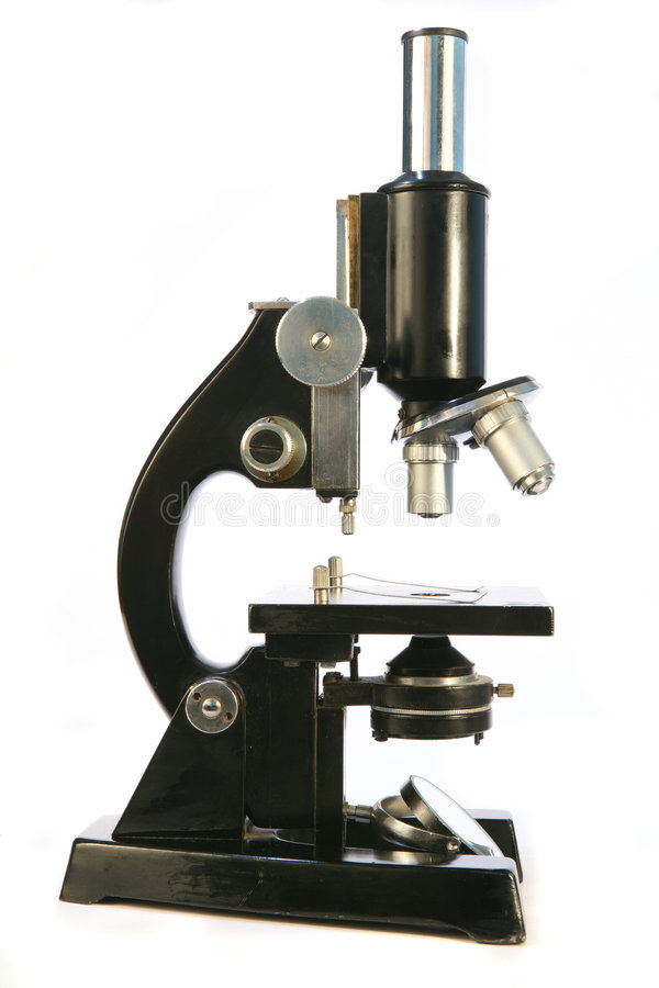 Microscope 1 stock photo