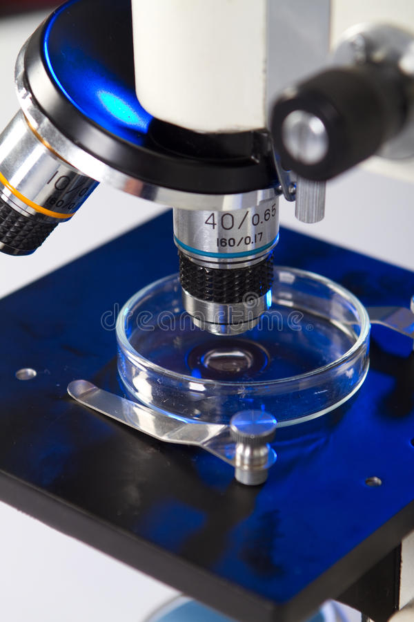 Download Microscope Royalty Free Stock Image - Image: 15468786