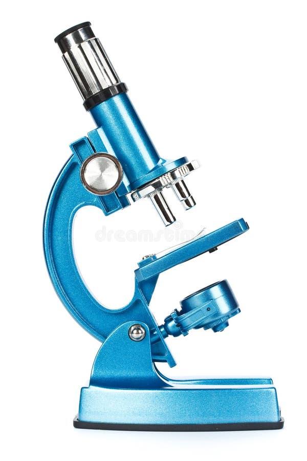 Download Microscope bleu image stock. Image du éducation, examinez - 8668619