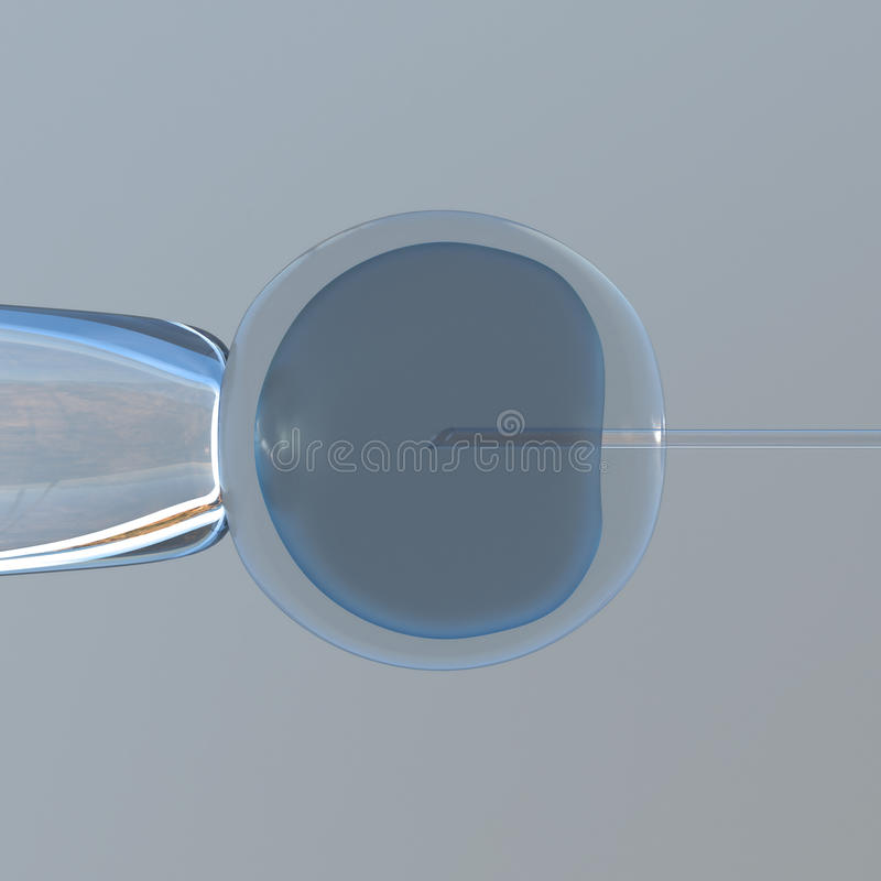 Download Microscopic experiment stock illustration. Image of cell - 15694924