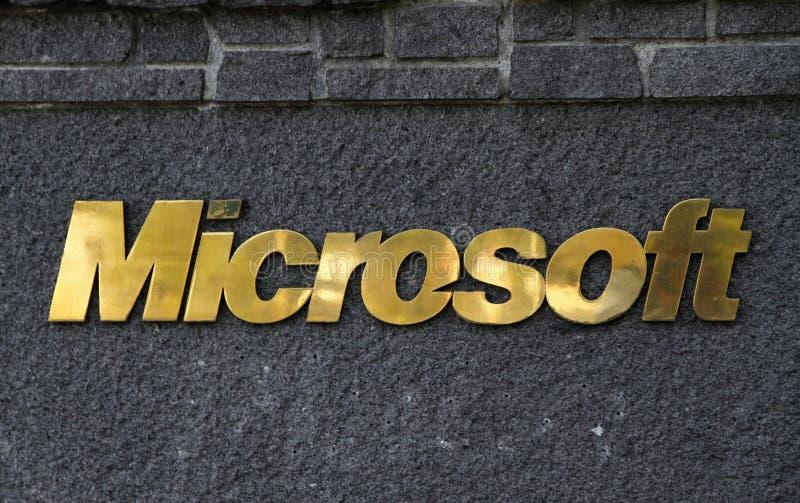 Microsoft lizenzfreies stockbild