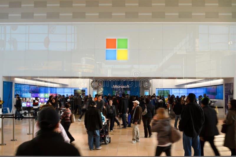 Microsoft armazena imagens de stock