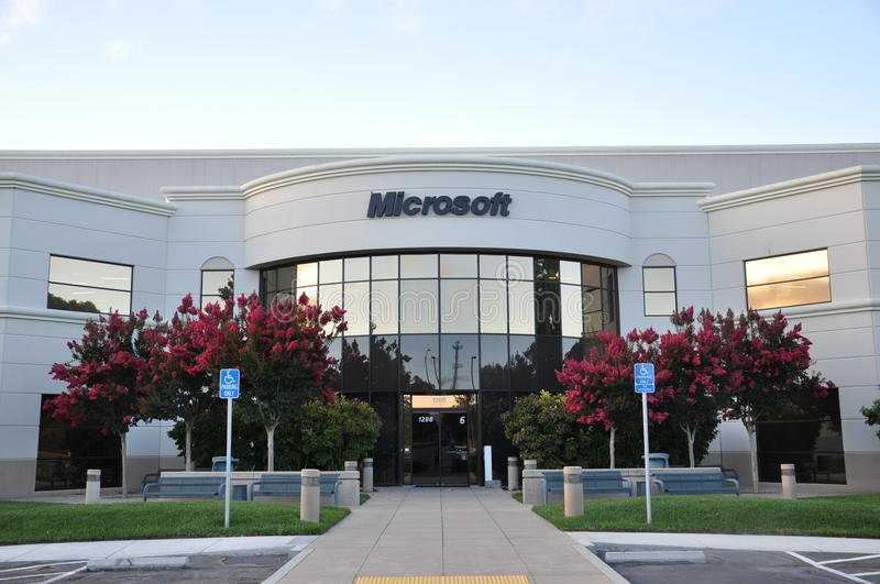 Download Microsoft building editorial photography. Image of campus - 18655332