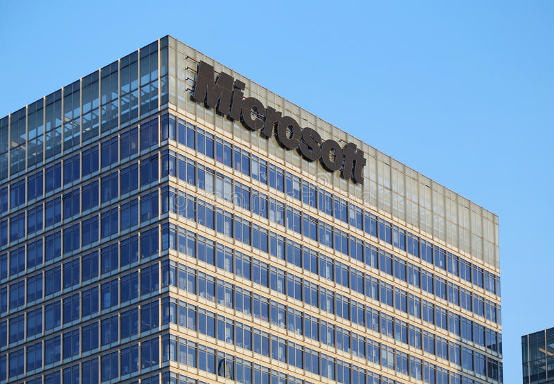 Download Microsoft Building editorial image. Image of business - 43441000