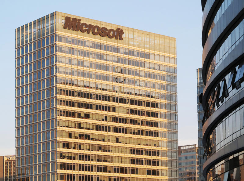 Download Microsoft Building Editorial Photo - Image: 43442396