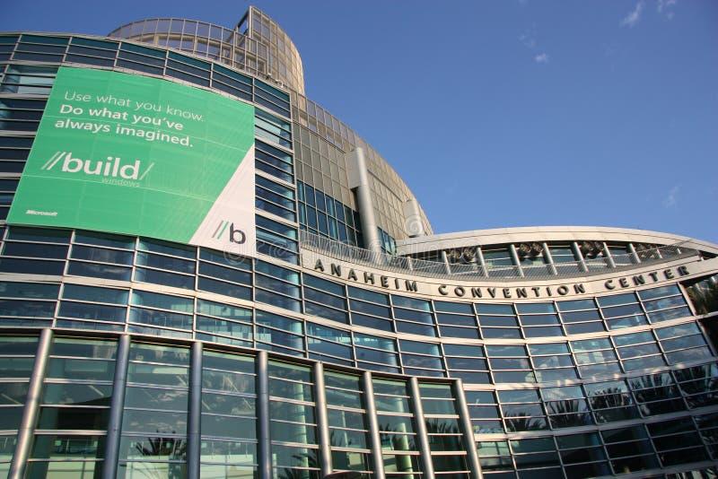 Microsoft constrói a conferência fotos de stock royalty free