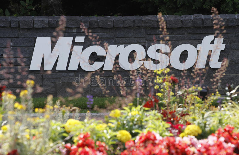 Microsoft Corporation stock afbeelding