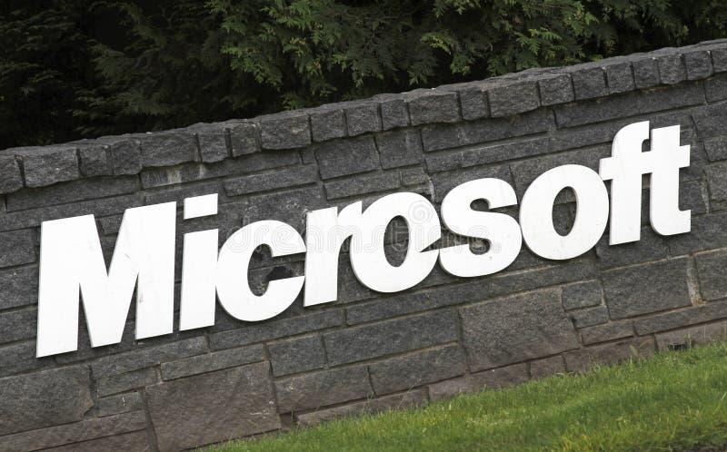 Microsoft Corporation royalty-vrije stock foto's