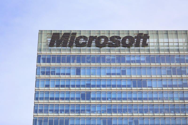 Microsoft-de Bouw stock afbeeldingen