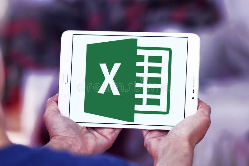 Microsoft Excel-embleem royalty-vrije stock afbeelding