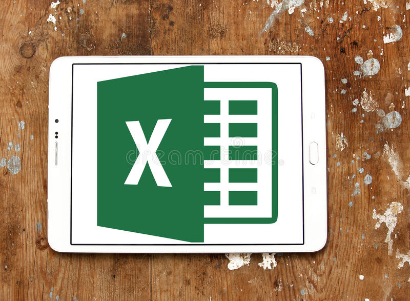 Microsoft Excel-Logo lizenzfreies stockfoto