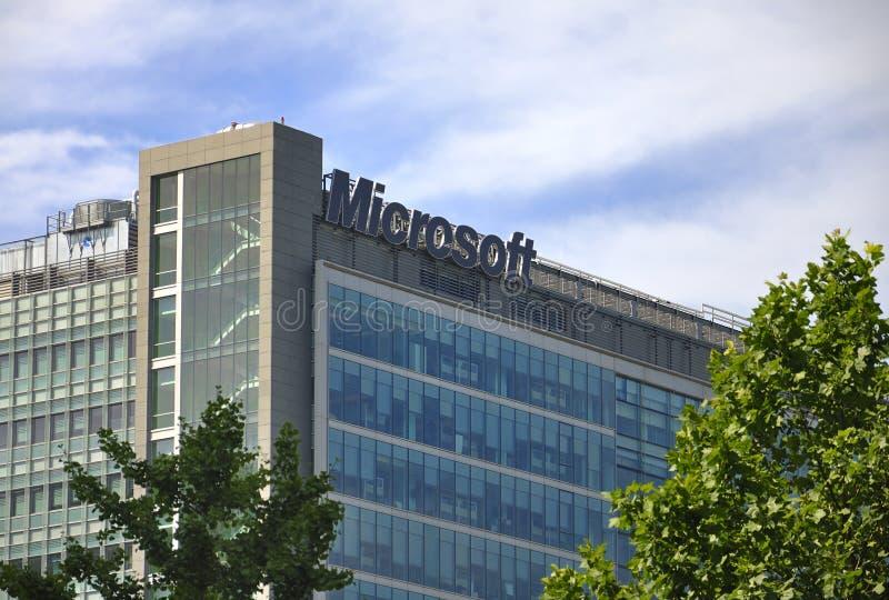 Microsoft-Gebäude stockbild