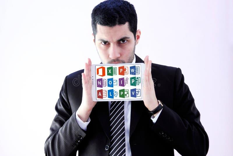 Microsoft-het bureauwoord, blinkt, Power Point uit royalty-vrije stock foto's