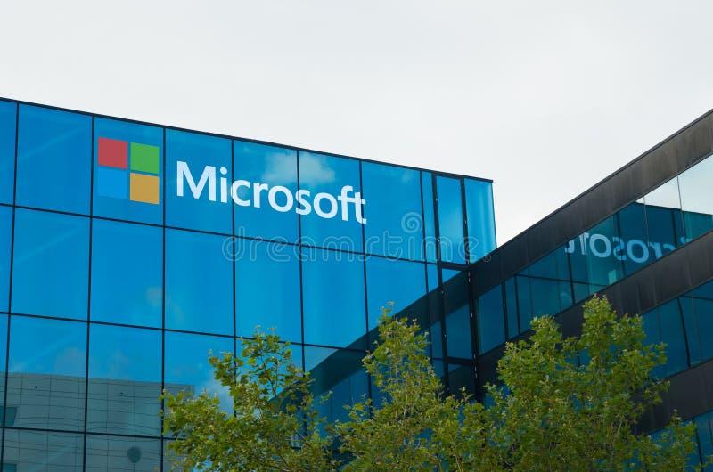 Microsoft kontor arkivbild