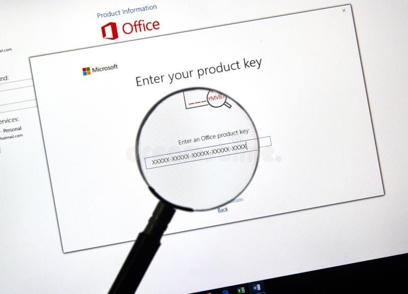 Microsoft Office 2019 στοκ εικόνες