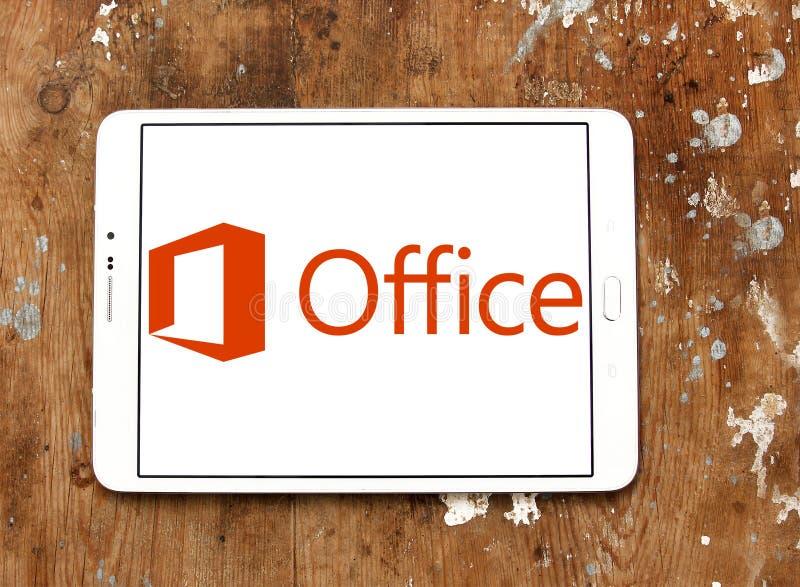 Microsoft Office-Embleem stock foto