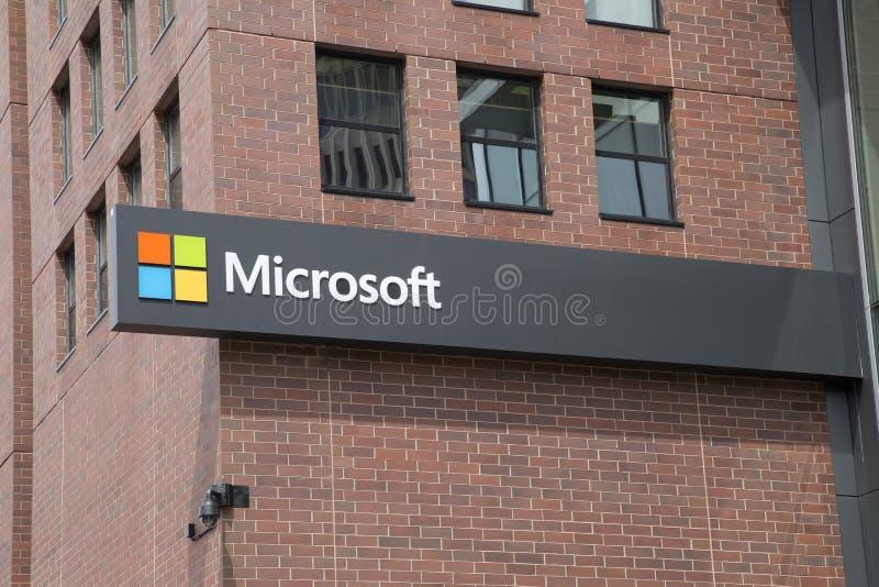 Microsoft Office-Errichten stockfotos