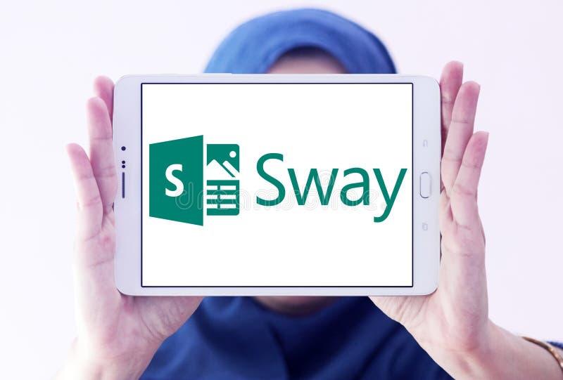 Microsoft Office kołysania logo zdjęcie stock