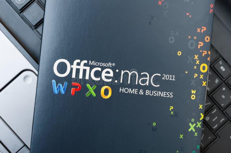 Microsoft Office pour Mac Software images libres de droits