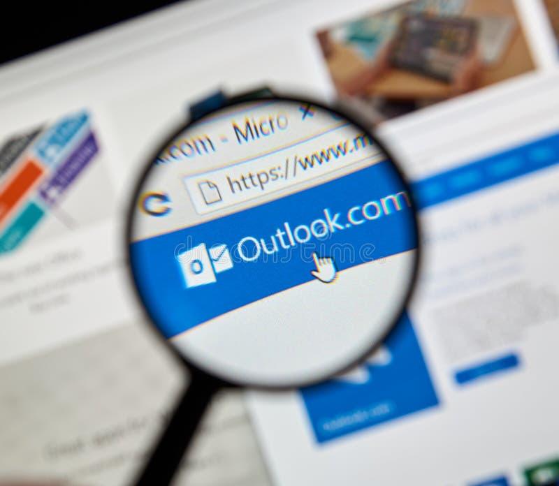 Microsoft Officeframtidsutsikt fotografering för bildbyråer