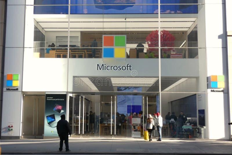 Microsoft-opslag royalty-vrije stock foto's