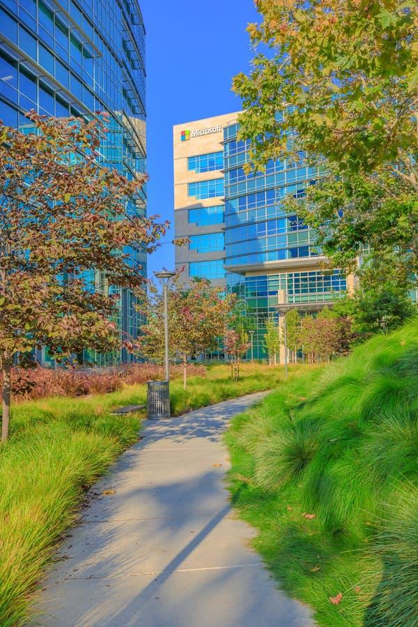 Microsoft Silicon Valley royalty-vrije stock foto