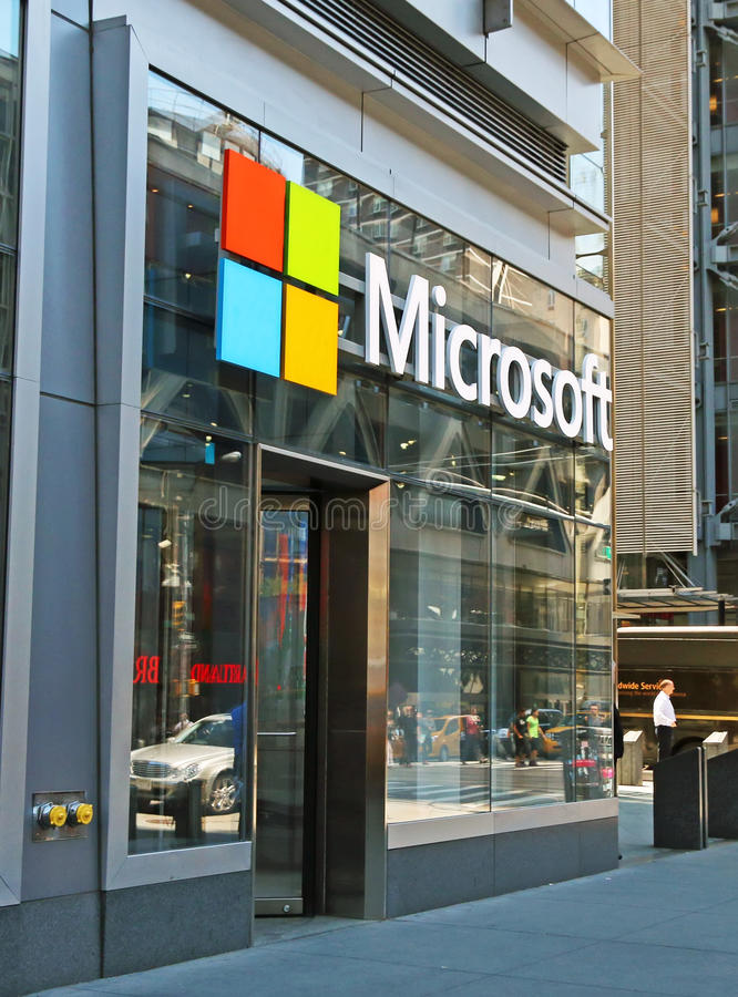 Microsoft stockent photo libre de droits