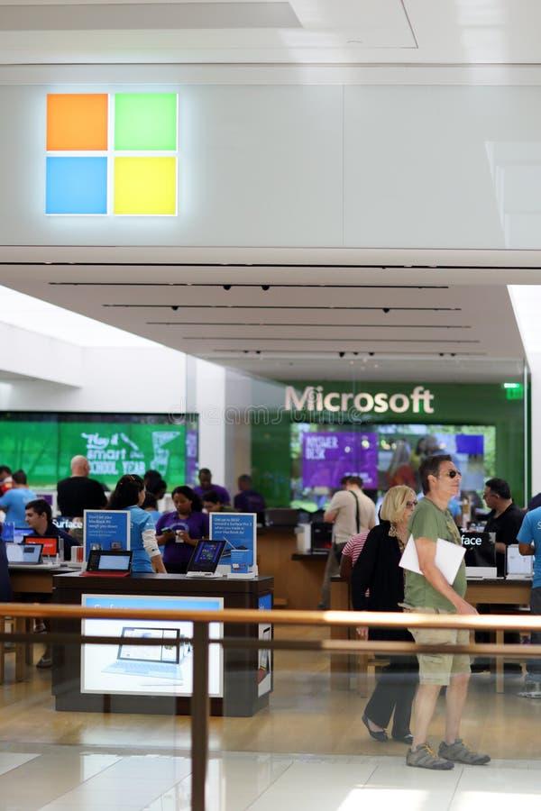 Microsoft stockent Aventura la Floride photos libres de droits
