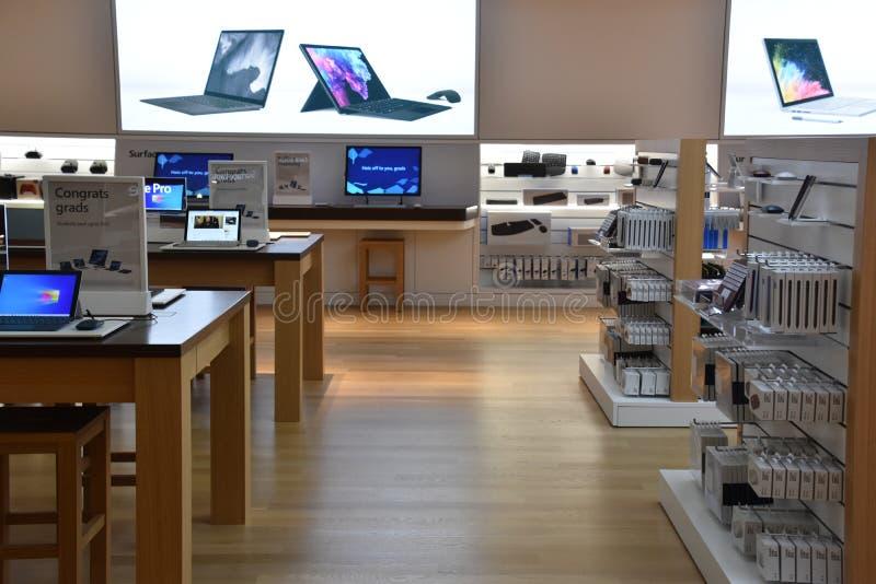 Microsoft Visitor Center w siedzibie głównej w Redmond, Waszyngton zdjęcie royalty free