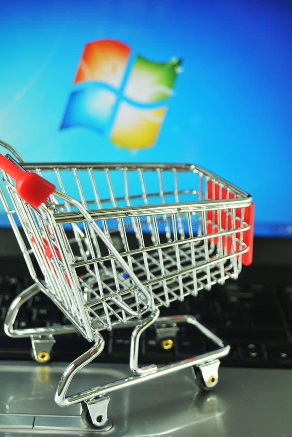 Microsoft Windows royalty free stock photos