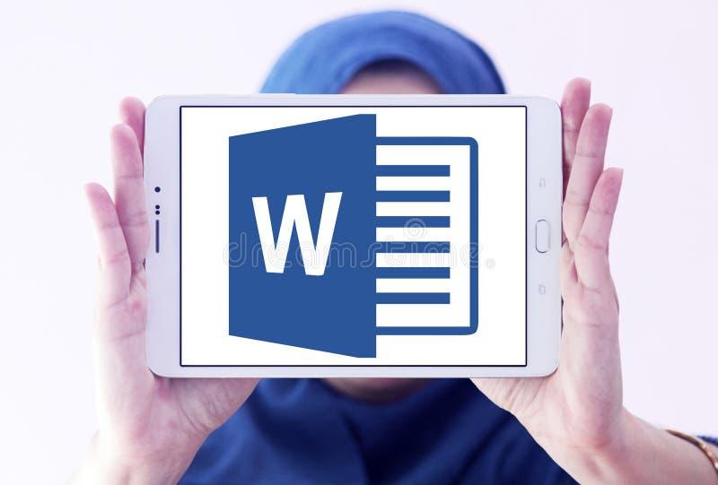 Microsoft Word logo arkivbilder