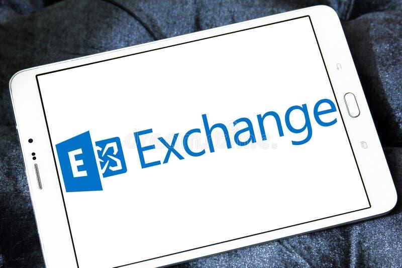 Microsoft wymiany serweru logo obraz royalty free