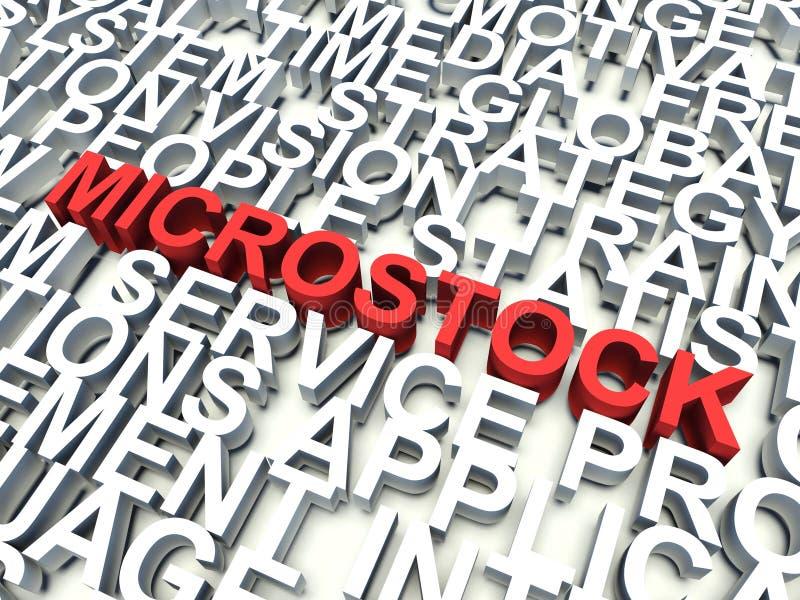 Microstock stock illustrationer