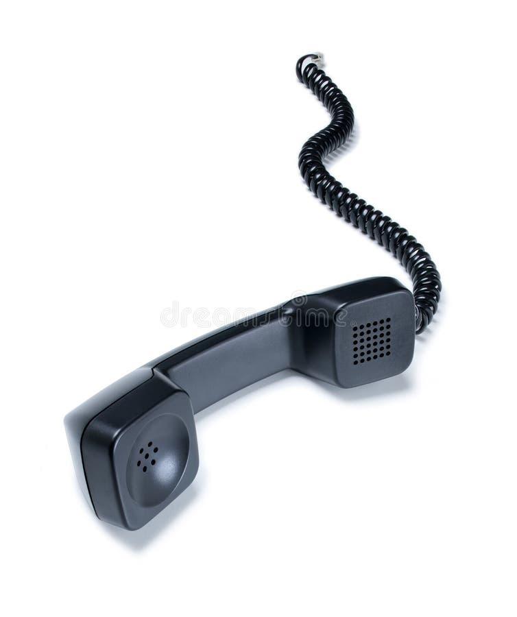 Microteléfono del receptor de teléfono imagen de archivo