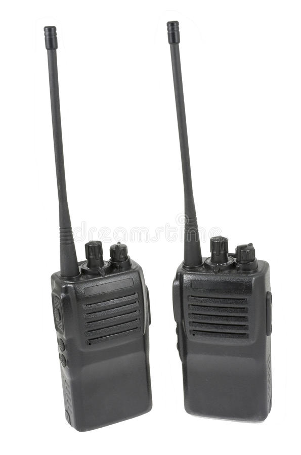 Microtelefoni di frequenza ultraelevata immagine stock
