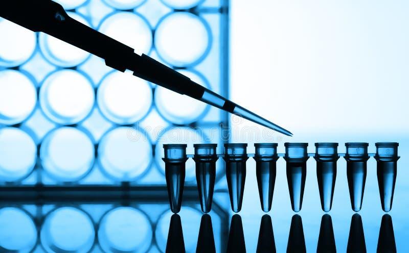 Microtubes royalty-vrije stock fotografie