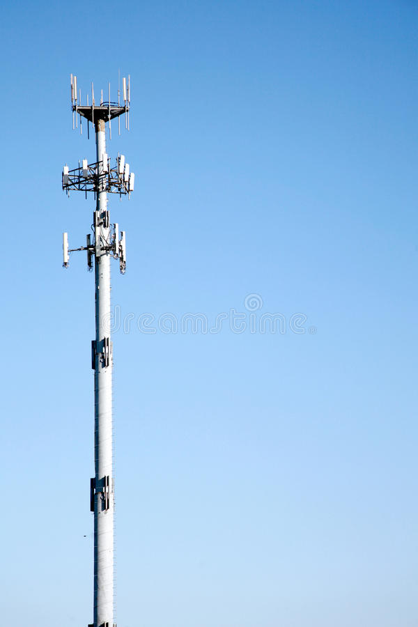 Microwave Communication Tower royalty free stock images