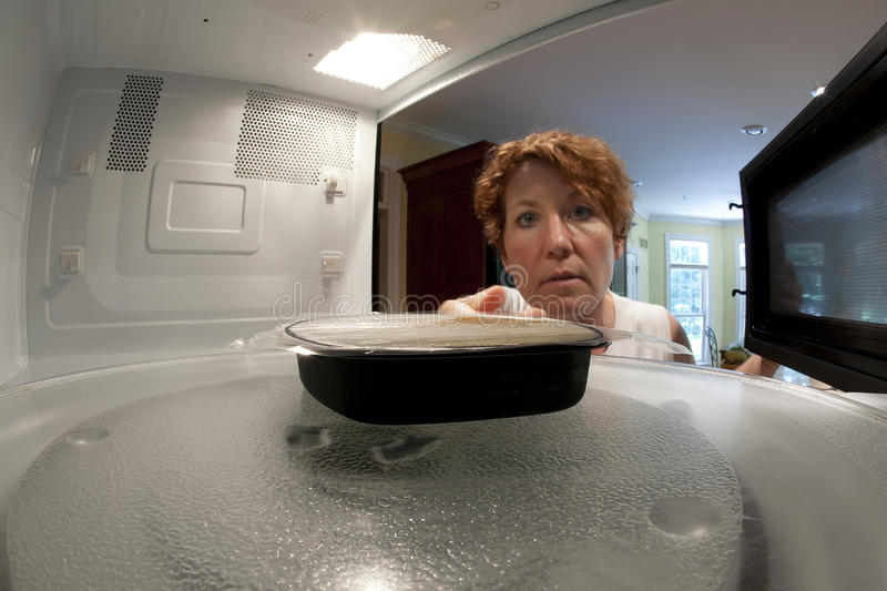 Download Microwave Dinner stock image. Image of nuke, quick, single - 20102147