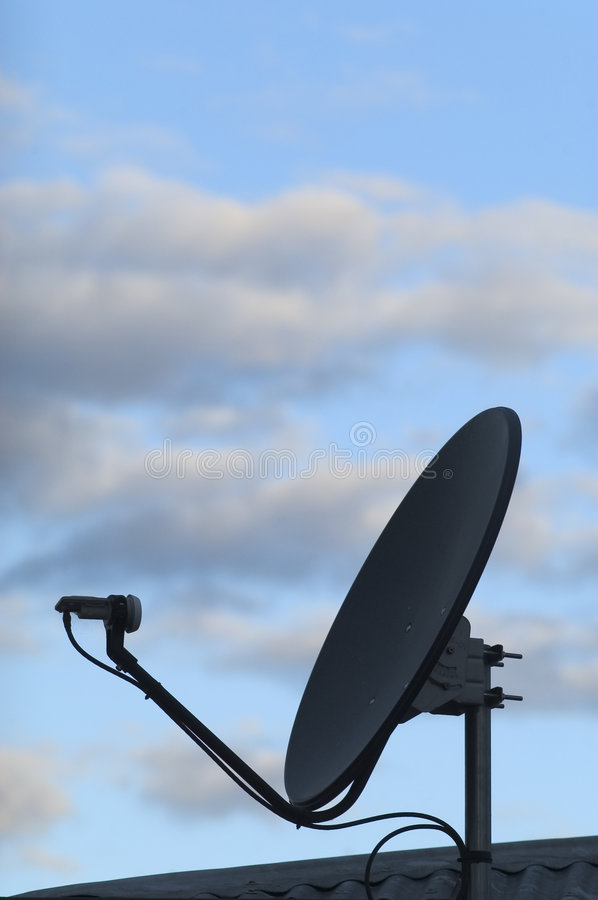 Microwave Dish 01 royalty free stock photography