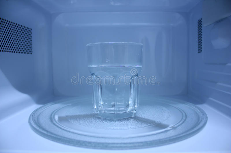 Download Microwave Oven stock photo. Image of water, equipment - 12550208