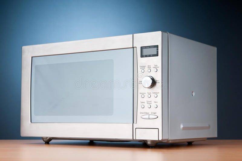 Download Microwave oven stock image. Image of close, defrost, buttons - 18104537