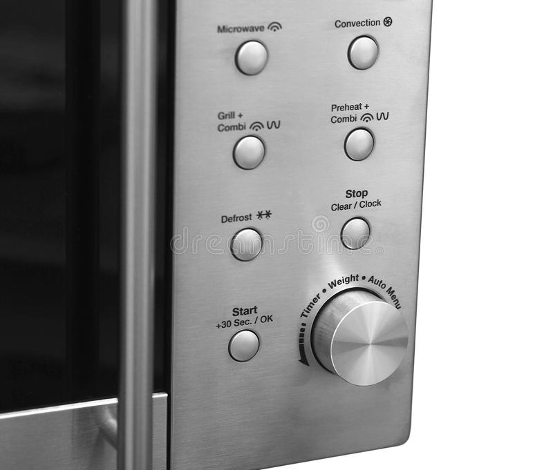 Download Microwave oven stock image. Image of metal, kitchenware - 24811527