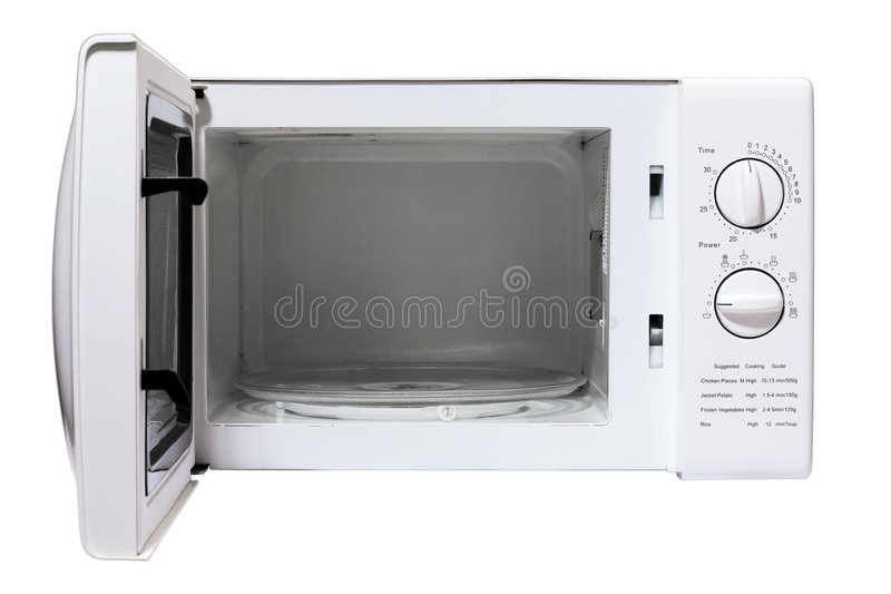 Download Microwave oven stock image. Image of oven, timer, copy - 6360439