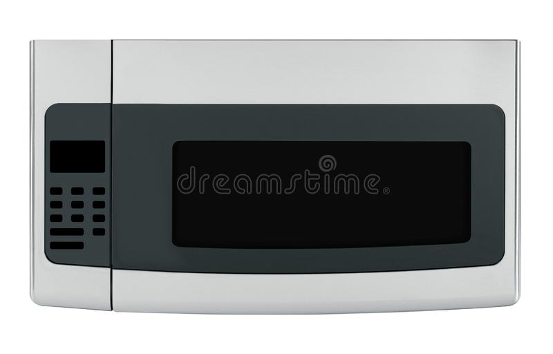 Microwave oven isolated stock images