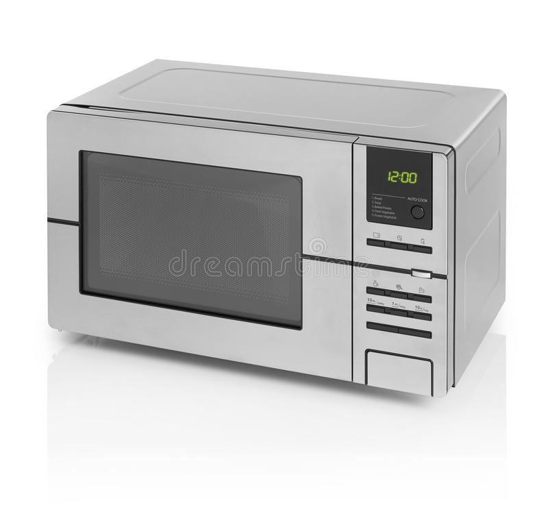 Microwave oven stock image